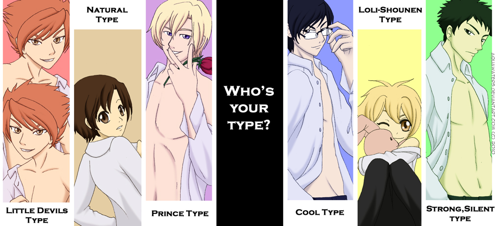 who's who, who's your type