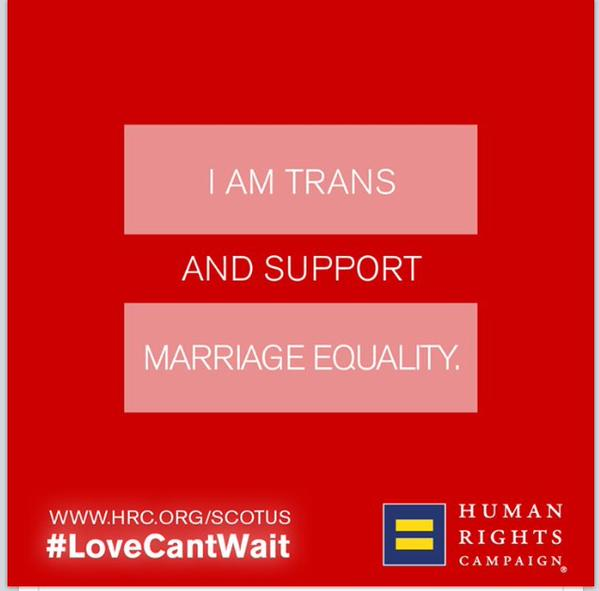 trans support marriage equality hrc