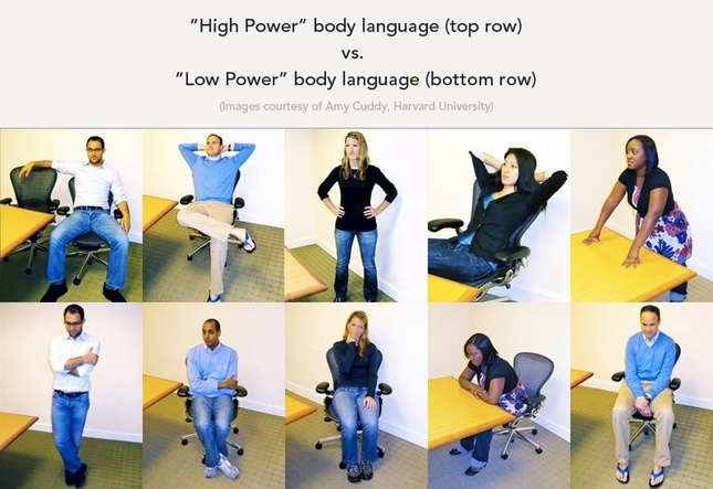 power poses, amy cuddy, harvard study