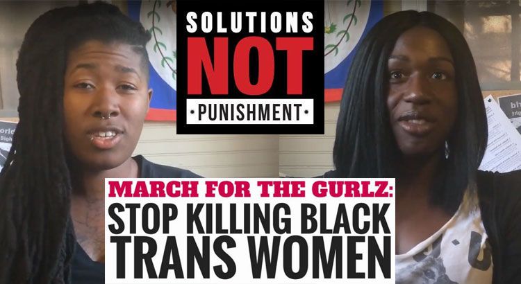 snap, solutions not punishment, trans women, trans lives matter, black trans women, atlanta, georgia